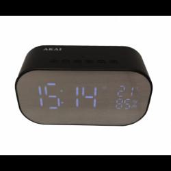 Радио часовник AKAI ABTS-S2 BLACK - Akai