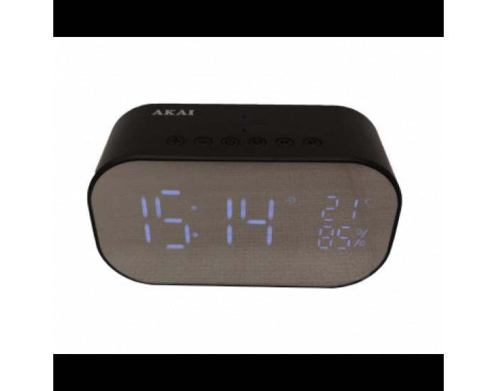 Радио часовник AKAI ABTS-S2 BLACK