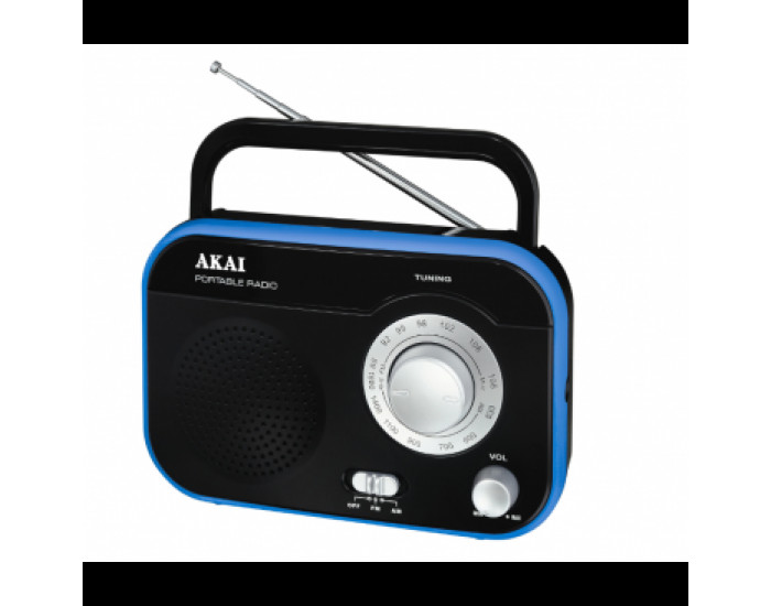 Преносимо радио AKAI PR003A-410BK