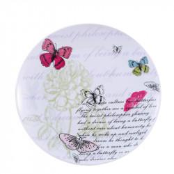 Порцеланова чиния основна 27 см Brunchfield Butterfly - Чаши, Чинии, Продукти за Сервиране