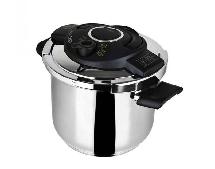 Тенджера под налягане - San Ignacio Cooktech  - 22 см -  6.5 л