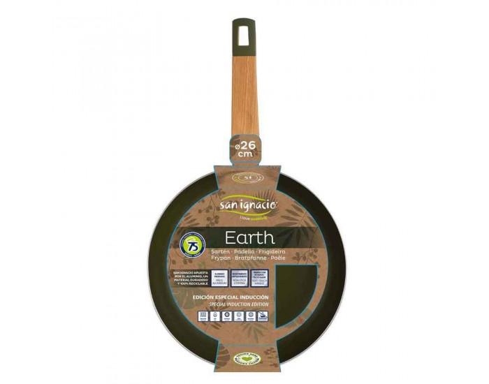 Тиган пресован алуминий - San Ignacio - Earth, 26 см