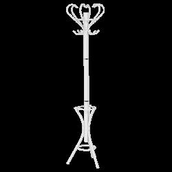 Закачалка за дрехи модел Memo-197 - бял - Закачалки