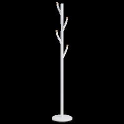 Метална закачалка мемо - 207, бял - Закачалки