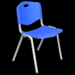 Пластмасов  Посетителски Стол 9931 - Син - Градински столове