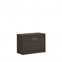 Шкаф за обувки Nepo SFK1K, Венге - Шкафове за обувки