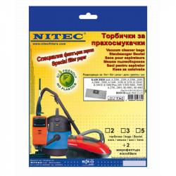 Торбички NITEC за прахосмукачки - Инструменти и Оборудване