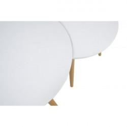 Сет 2 масички Мебели Богдан модел Smit, бяло - Мебели Богдан