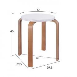 Табуретка Memo.bg модел  Stenli - Мека мебел