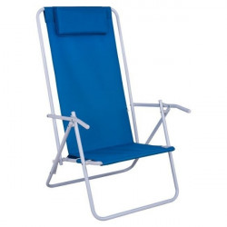 Сгъваем плажен стол, син - Аксесоари за пътуване