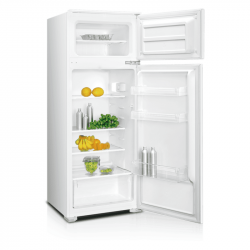 Вграден хладилник с горна камера Crown DF-250BUILD , 207 l, A+ , Бял , Статична - Хладилници