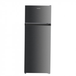 Хладилник с горна камера Crown DF-240SI , 205 l, A+ , Сив , Статична - Хладилници