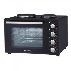 Готварска печка (мини) Crown MNH-35B , 2 ток , Черен - Готварски печки