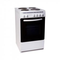 Готварска печка (ток) Crown 5400A , 4 ток , Бял - Готварски печки