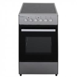 Готварска печка (ток) Crown CEC-5060V IX , INOX , Керамични - Готварски печки