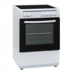 Готварска печка (ток) Crown 60C3MA , Бял , Керамични - Готварски печки