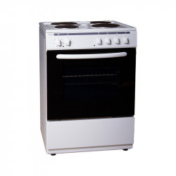 Готварска печка (ток) Crown 6410A , 4 ток , Бял - Готварски печки