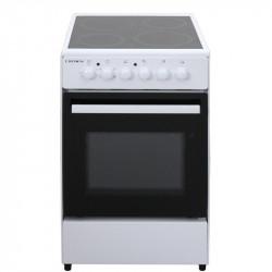 Готварска печка (ток) Crown CEC-5060V W , 4 ток , Бял - Готварски печки