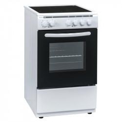 Готварска печка (ток) Crown 50C3MA , Бял , Керамични - Готварски печки