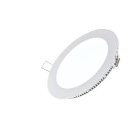 LED панел, кръг, 12W, 220V с включен драйвър - Осветителни тела