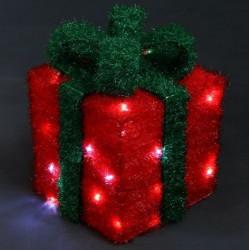 Светеща фигура подарък - Сезонни и Празнични Декорации