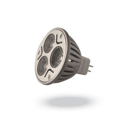 LED луничка 3х1W, цокъл MR16, DC12V, клас B - Осветителни тела