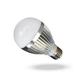 LED балон 3х1W цокъл E27, 220V, клас B - Мебели и Интериор