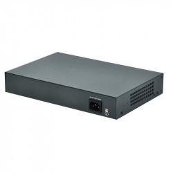 PoE суич - 4 PoE порта +2 Up link 10/100Mbps - Видеонаблюдение и Алармени системи