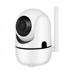 WIFI Робо камера със слот за SD карта и вграден микрофон - Видеонаблюдение и Алармени системи
