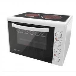 Готварска печка мини Елдом 201VFE-NEW , 2 керамични , Бял - Готварски печки