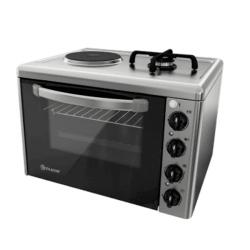Готварска печка мини Елдом 213VF-NEW , 1 ток 1 газ , INOX - Готварски печки