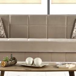 Триместен диван Memo.bg модел Nova, с опция за сън - Elite