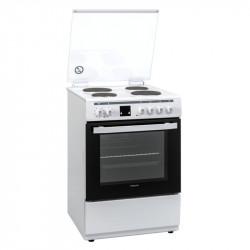 Готварска печка (ток) Finlux FLEM 60A , 4 ток , Бял - Готварски печки