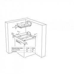Вграден керамичен плот Finlux FXVT 322D IX - Котлони