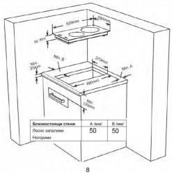 Вграден керамичен плот Finlux FXVT 400 ECO WH - Котлони