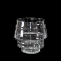 Стъклена Ваза Pepito, Височина 19 см/ Диаметър 16 см. - Сувенири, Подаръци, Свещи