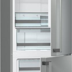 Комбиниран хладилник с фризер Gorenje NRK6192TX - Хладилници
