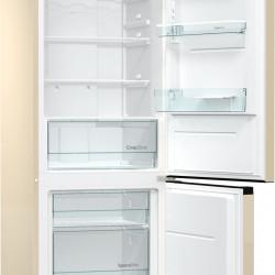 Комбиниран хладилник с фризер Gorenje NRK6192CC4 - Хладилници