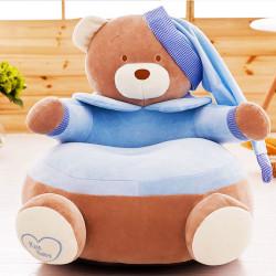 Детски плюшен фотьойл Smart Blue Bear - Мебели за детска стая
