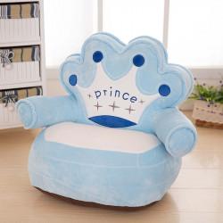 Детски плюшен фотьойл Smart Blue Prince - Мебели за детска стая