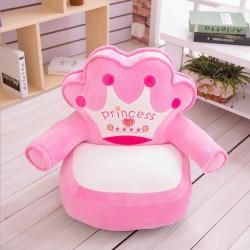 Детски плюшен фотьойл Smart Pink Princess - Мебели за детска стая