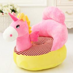 Детски плюшен фотьойл Smart Pink Unicorn - Мебели за детска стая