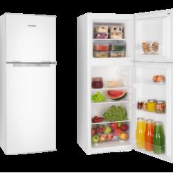 Хладилник с горна камера, Обем на хладилната част 98л, Енергиен клас А+ - Hansa