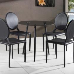 Трапезен комплект BM-Felix 1 - маса + 3 стола - Комплекти маси и столове