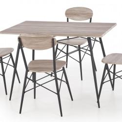 Трапезен комплект BM-Kabir 1 - маса + 4 стола - Комплекти маси и столове
