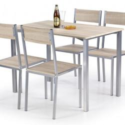 Трапезен комплект BM-Ralph 1 - маса + 4 стола - Комплекти маси и столове