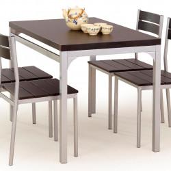 Трапезен комплект BM-Malcolm 1 - маса + 4 стола - Комплекти маси и столове