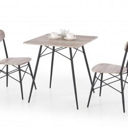 Трапезен комплект BM-Kabir 1 - маса + 2 стола - Комплекти маси и столове