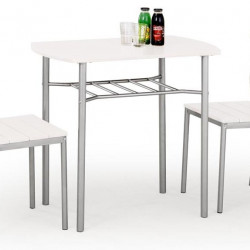 Трапезен комплект BM-Lance 1 - маса + 2 стола - Комплекти маси и столове