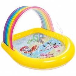 Детски басейн дъга възраст 2+ 1,47м х1,3м х86см - Детски играчки